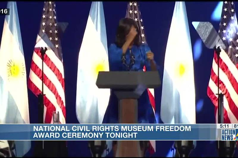 Michelle Obama, Poor People's campaign honored with Freedom Award