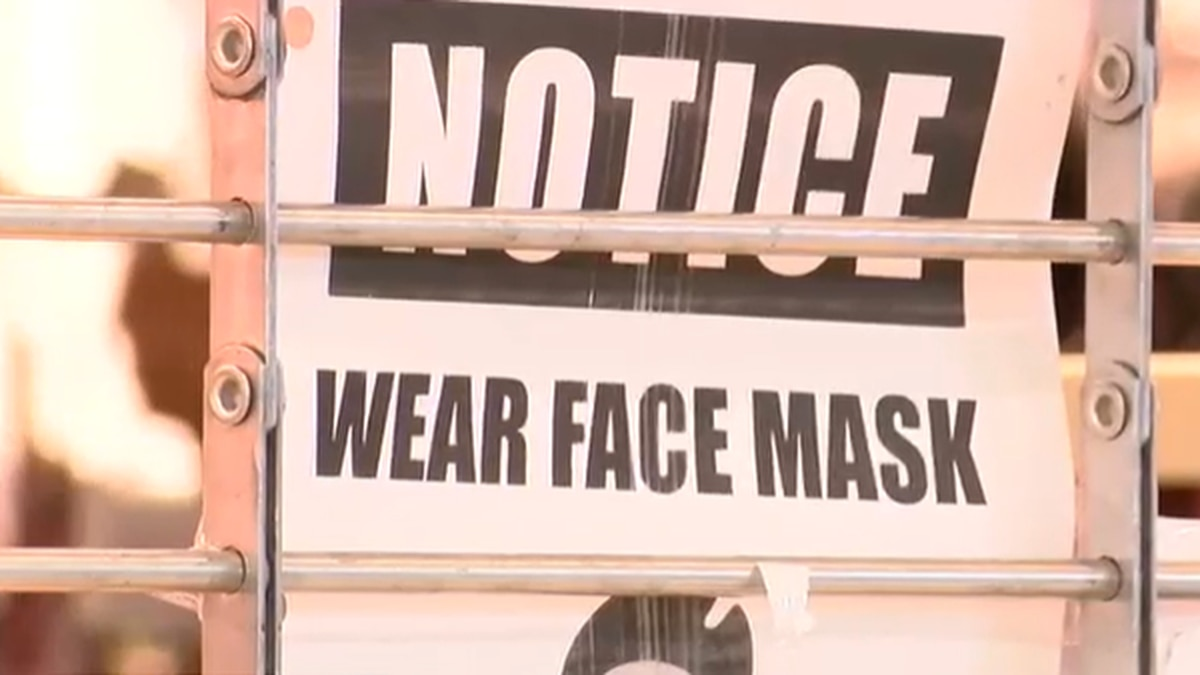 Saturday is the second day citizens in Montgomery are required to wear a face covering in a...