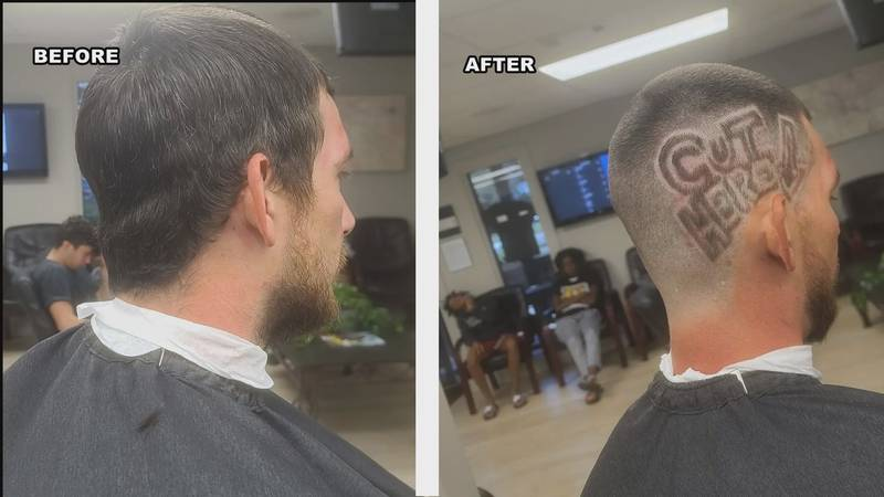 When James Smith sat down in his chair one month ago, barbershop owner Greg Picinic realized...