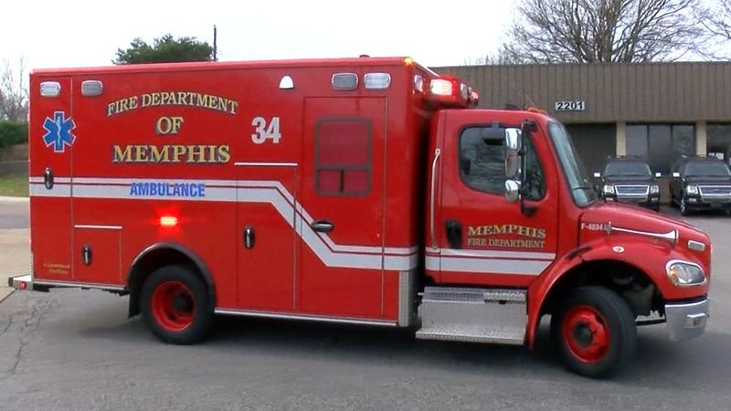 Memphis Fire Department Ambulance