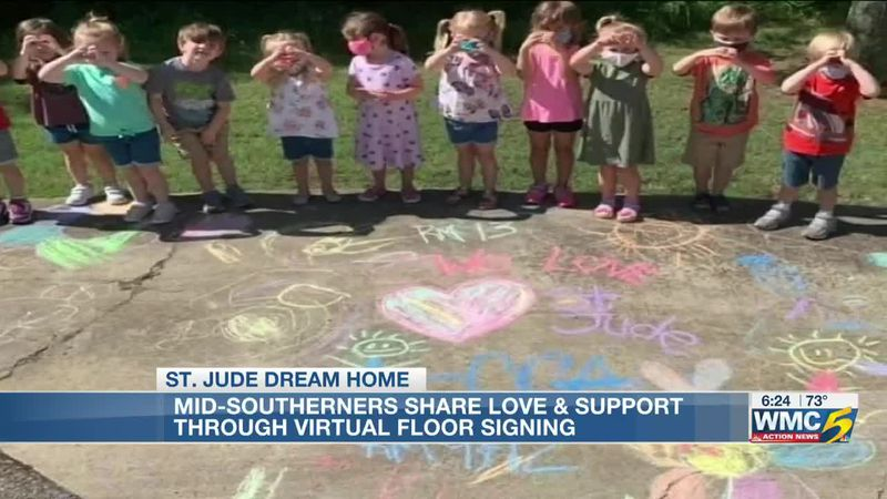 Mid-Southerners show love and support through virtual floor signing