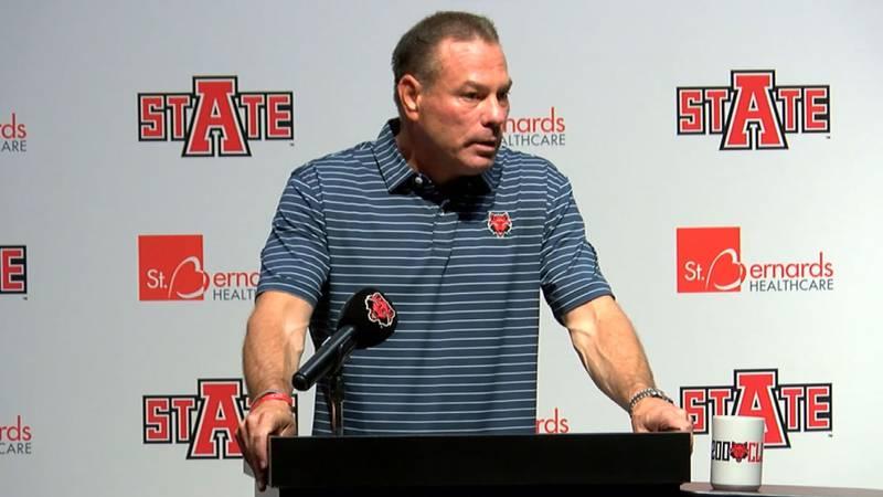 Arkansas State Head Coach Butch Jones