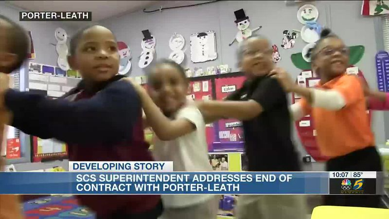 SCS superintendent addresses ending contract with Porter-Leath