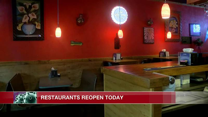 Miss. restaurants open to customers eager for a sit-down meal
