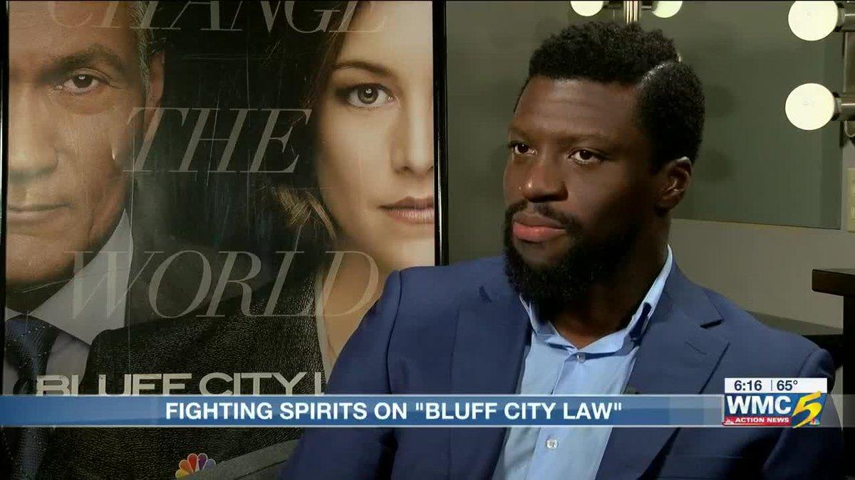"Michael Luwoye talks ""Bluff City Law"" episode 5 (Source: WMC)"