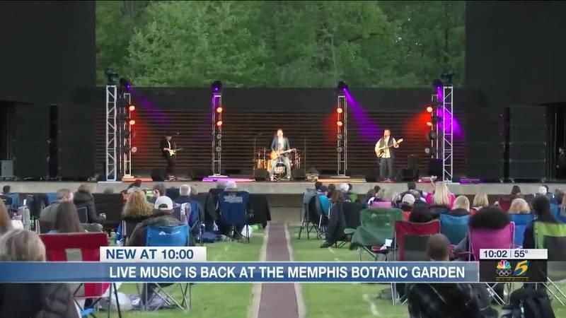 Live music is back at the Memphis Botanic Garden