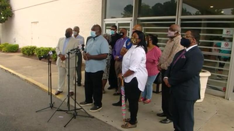 Pastors speak out against gun violence in Whitehaven