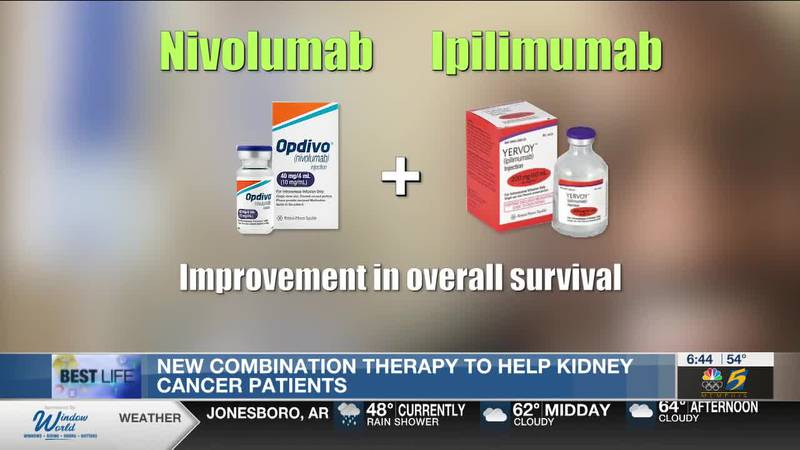Best Life: New combination therapy to help kidney cancer patients