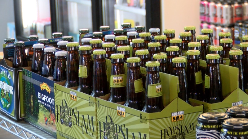 One local beer store owner shares thoughts on the delivery of Alcohol if bill is passed