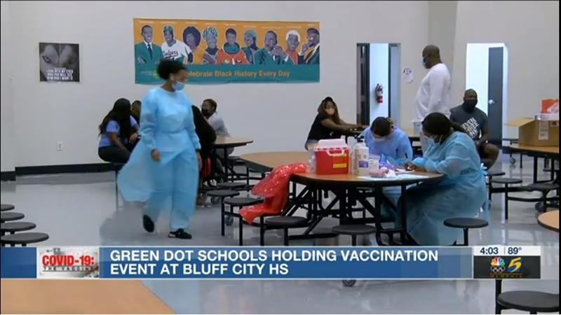 green dot vaccination