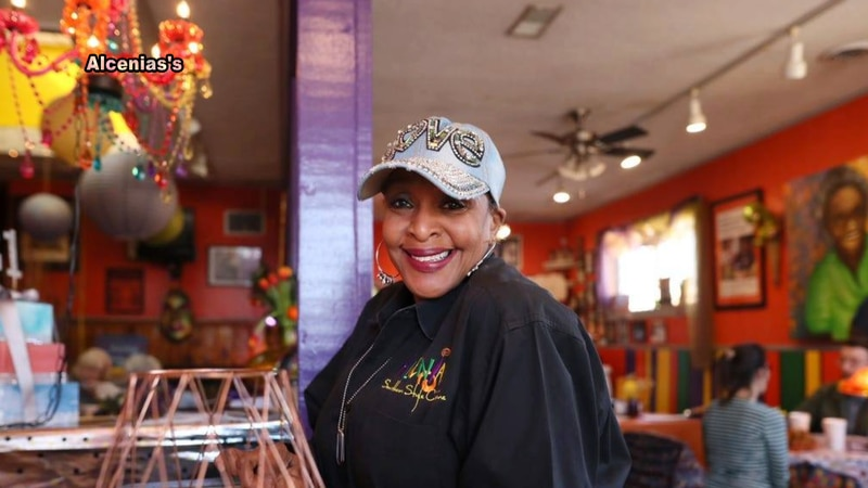 BJ Chester-Tamayo, owner of Alcenia's