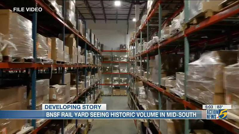 Mid-South shipping centers see historic levels of volume