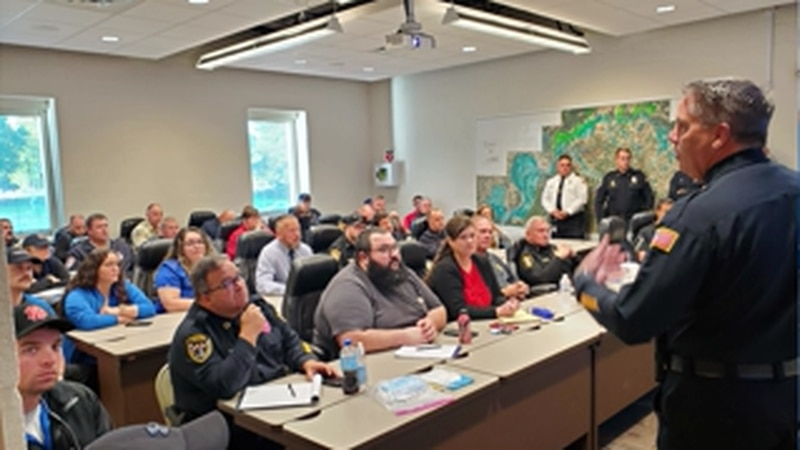 Collierville police chief holds active shooter training in Tipton County
