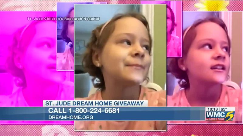 Sharing Charlotte's story (St. Jude Dream Home Giveaway)