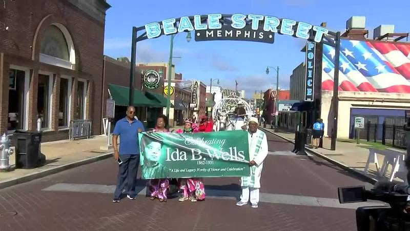 Ida B. Wells parade