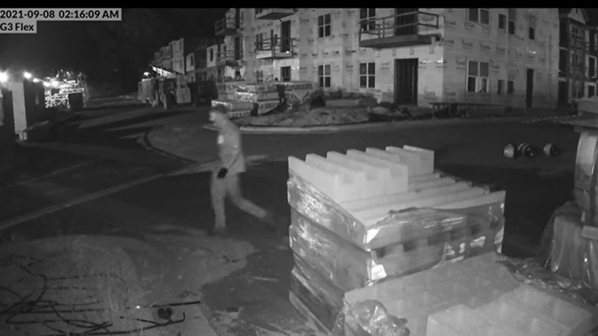A suspect is wanted in Oxford for stealing approximately $10,000 in copper wire.