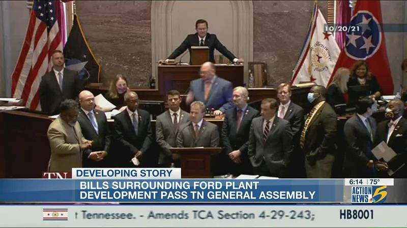 Special session ends, Ford bills passed