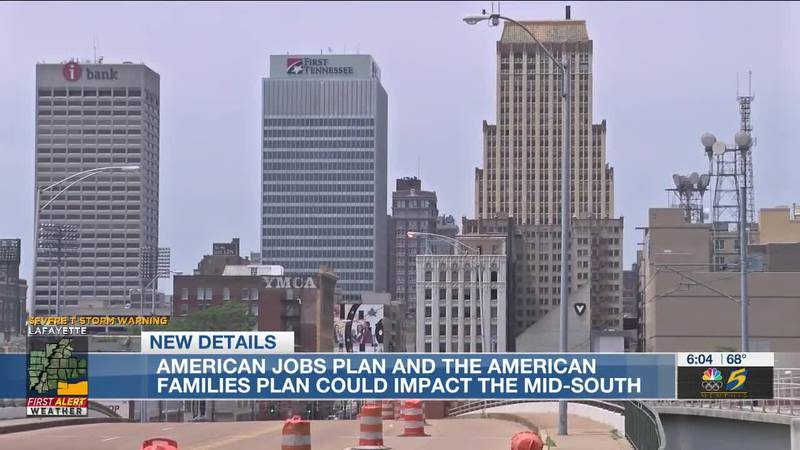 American jobs plan and the American families plan could impact the Mid-South