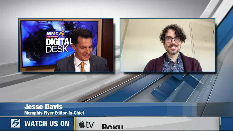 Memphis Flyer Editor-in-Chief Jesse Davis joined Andrew Douglas at the WMC Digital Desk