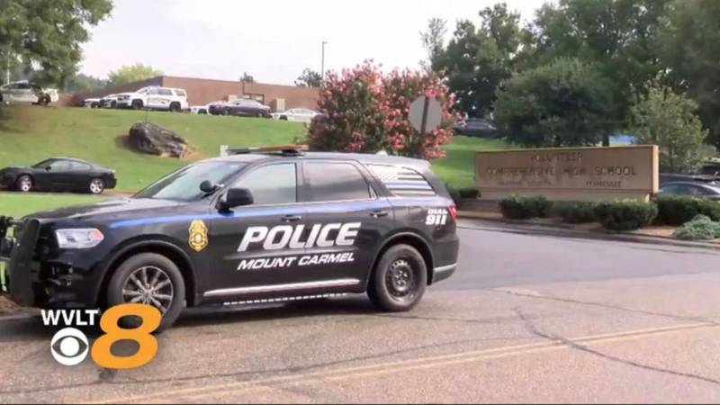 According to officials with the Hawkins County Sheriff's Office, the school went on lockdown...