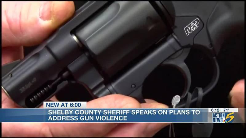Shelby County Sheriff Floyd Bonner shares plans to address juvenile crime