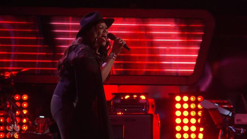 """Wendy Moten on """"The Voice"""""""