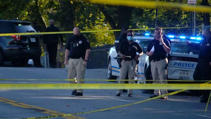 Scene of shooting near Kingsbury Elementary School