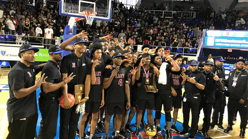 East High School after their third straight state championship (Source: WMC Action News 5)