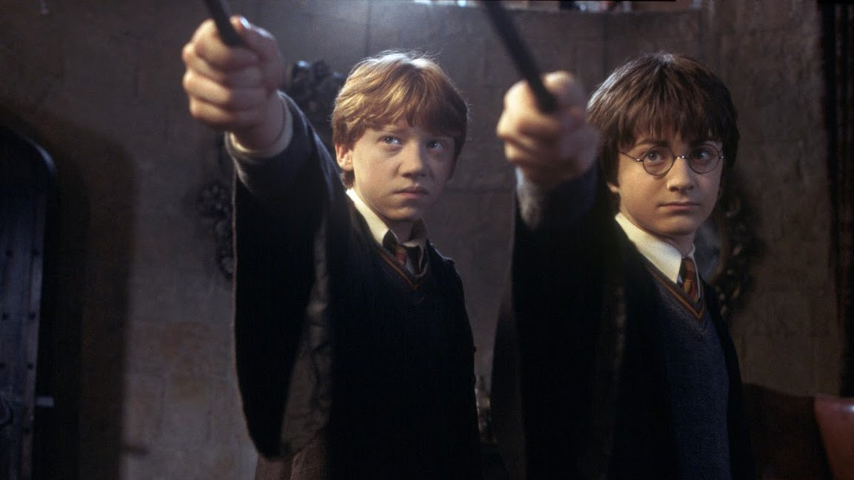 Harry Potter and the Chamber of Secrets is the second film in the series. (Source: WBEI)