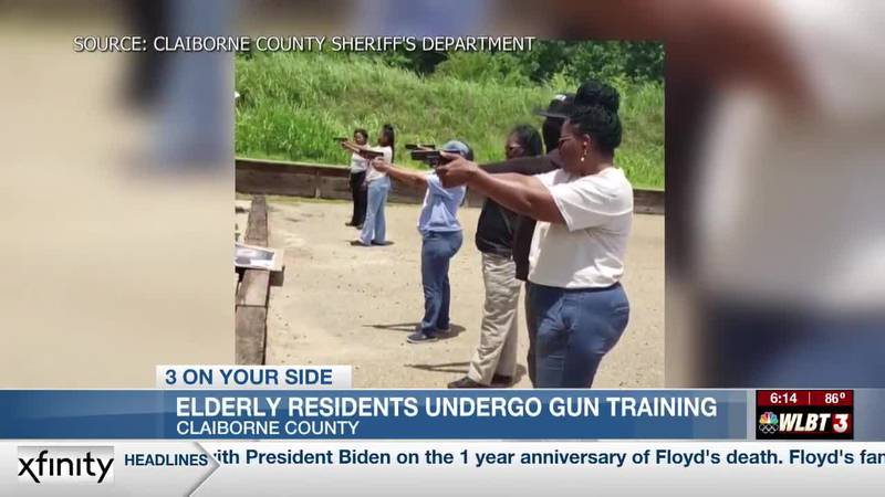 Sheriff's gun training course teaches elderly residents how to protect themselves