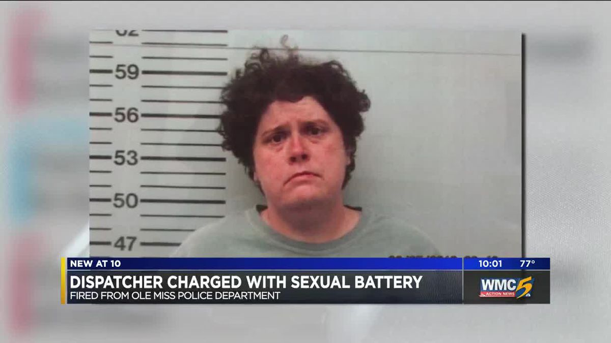 Ole Miss dispatcher charged with sexual battery