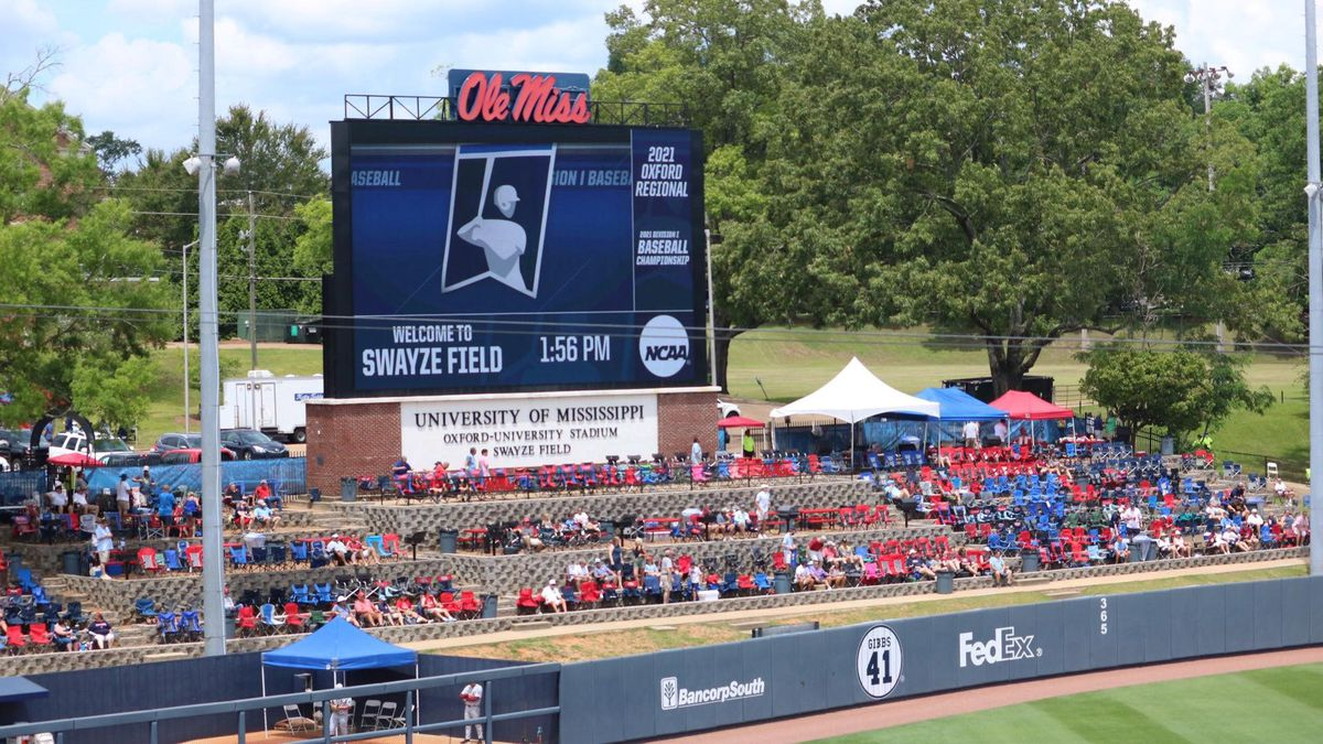 Ole Miss plays host to the Oxford Regional in the 2021 NCAA baseball tournament.