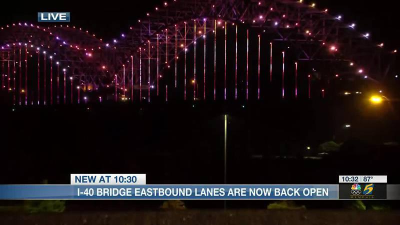 I-40 Bridge reopens