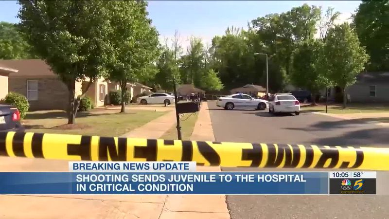 Shooting sends juvenile to the hospital in critical condition