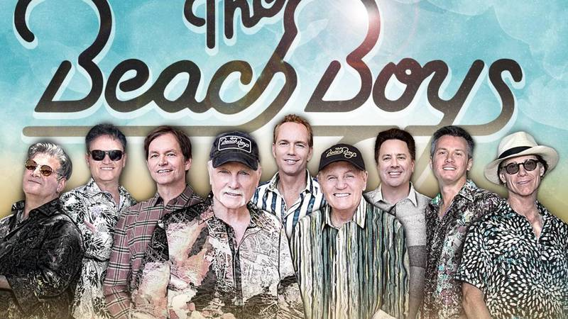 The Beach Boys will be performing in Grand Island on August 1.
