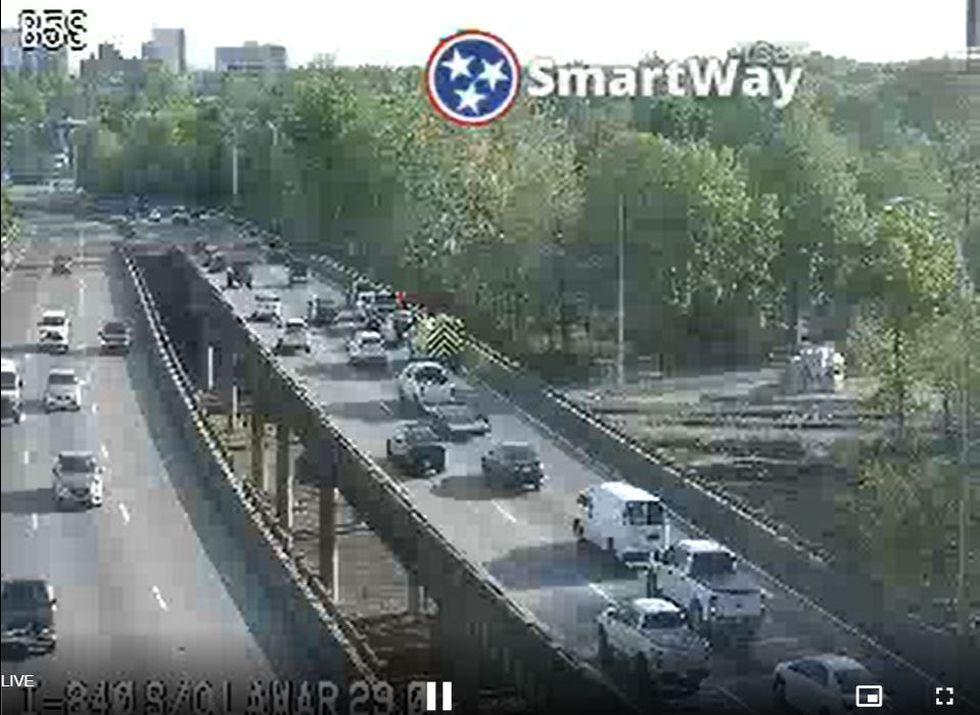 I-240 downtown Memphis crash