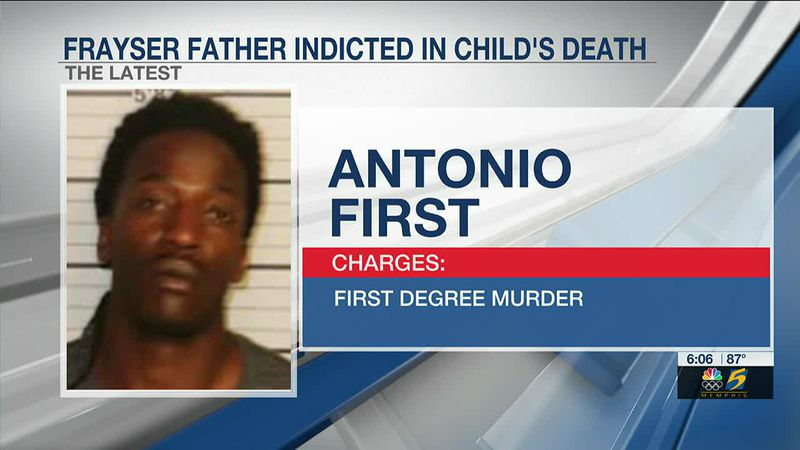 Frayser man indicted in son's beating death