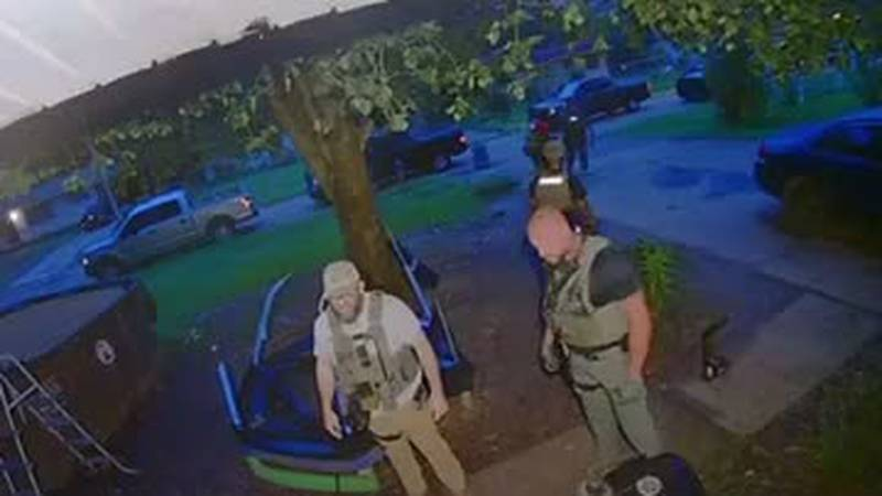 U.S. Marshals investigating after punch caught on camera - clipped version