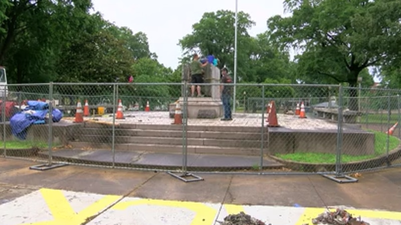 Juneteenth festival to continue at Memphis park as removal of Confederate general's remains...