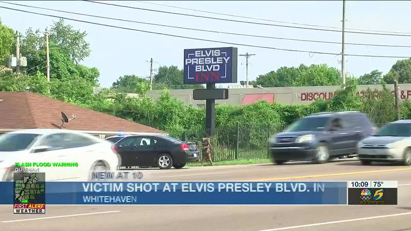 Victim in critical condition after shooting at Elvis Presley Blvd. Inn in Whitehaven