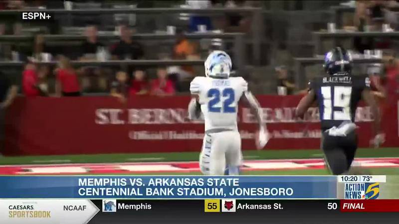 Shootout in Jonesboro: Memphis comes away with 55-50 win over Arkansas State
