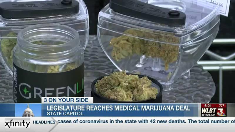 Lawmakers reach agreement on medical marijuana bill