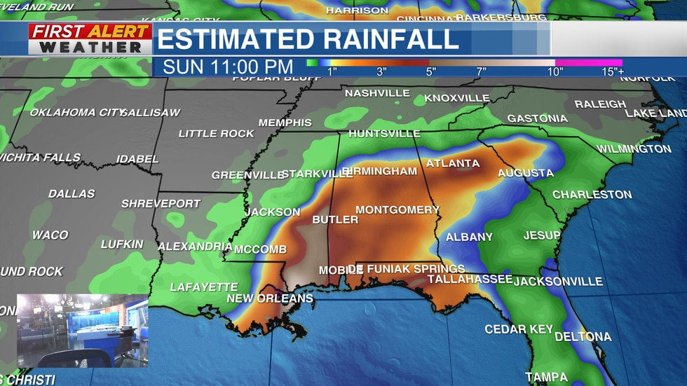 Rainfall totals of 4 to 8 inches with isolated maximum amounts of 12 inches are expected across...