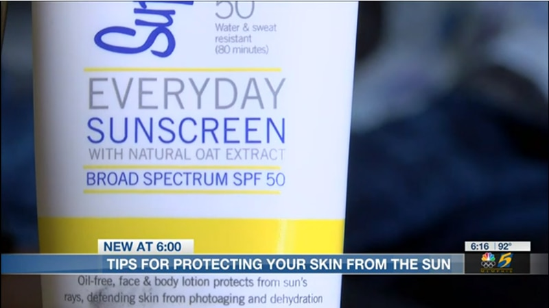 How to protect skin from the sun