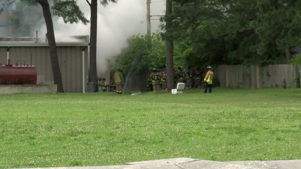 Memphis Fire Department crews battled a two-alarm fire at Delta Medical Center, which is a...
