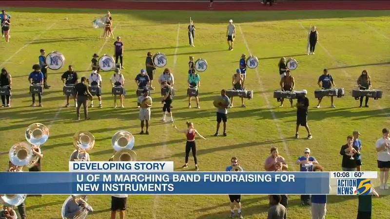 UofM marching band starting 'mighty' fundraiser for new instruments