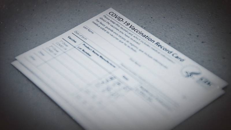Fake COVID-19 vaccine cards are on the rise