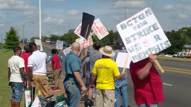 Organizations rally in support of striking Kellogg's workers