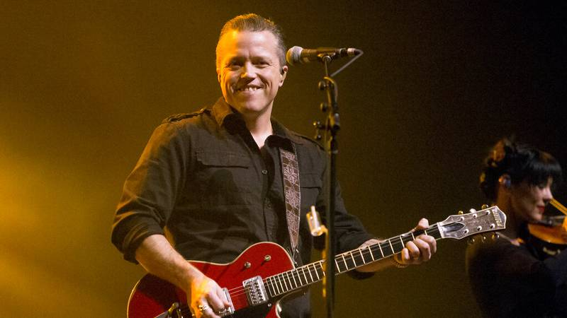 FILE - Jason Isbell performs in concert as Jason Isbell & the 400 Unit on Feb. 6, 2018, in...
