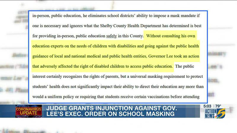 Parents and governor react to judges preliminary injunction